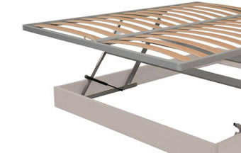 Orthopaedic beech multiply base with bed make-up mechanism